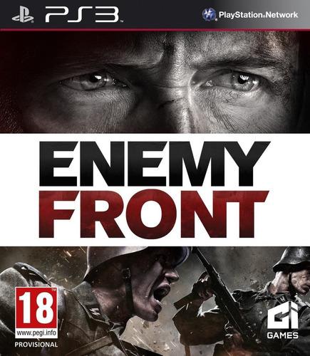 Jogo Novo Lacrado Enemy Front Para Playstation 3 Ps3