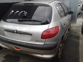 Sucata Peugeot 206 1.0/1.4 Flex/1.6 8v/1.6 16 Em Peças