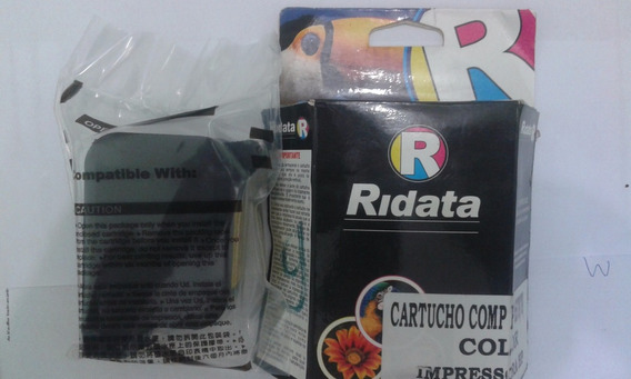 Cartucho Compativel Hp 6578 Color 100% Novo Lacrado