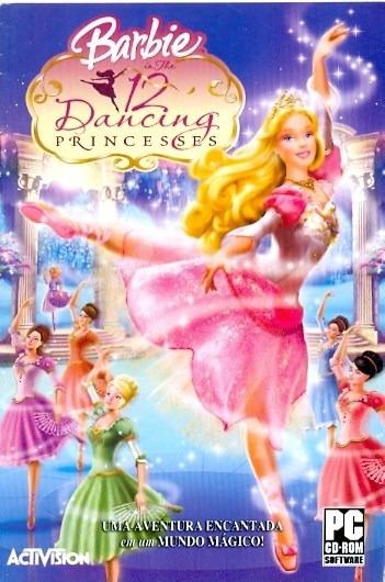 Somente Manual Original Em Portugues Barbie 12 Dancing Princ