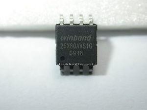 Ci Chip Eeprom Winbond 25x80avsig Para Bios - Gravamos