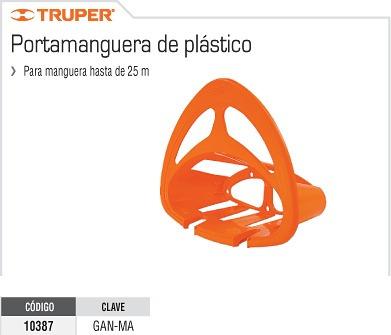 Portamanguera De Pared Truper