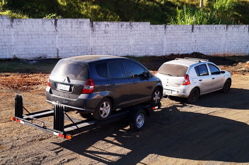 Carreta Reboque Transp De Veículos Até 1200kg 0 Km 1 Eixo
