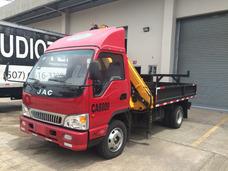Alquiler De Camiones Con Gruas Hidráulicas Articuladas