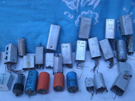 Capacitores Eletrolíticos E Bobinas Para Rádios À Vàlvulas