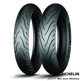 Par Michelin Street Radial 120/70-17 + 150/60-17 Gsx750f