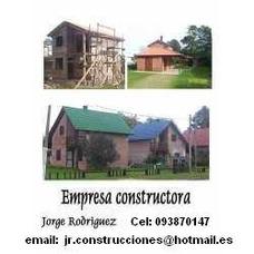 Chalet Llave En Mano Pronta Para Habitar U$s 30.000 2 Dorm.