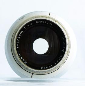 Lente 13,5cm Hektor Para Leica De Rosca