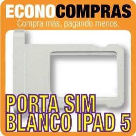 Bandeja Porta Sim Color Blanco Para iPad Air Nuevo