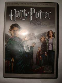 Harry Potter Caliz De Fuego 2 Dvd Original En Caballito*