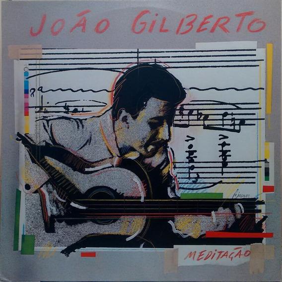 Lp - João Gilberto - Meditação