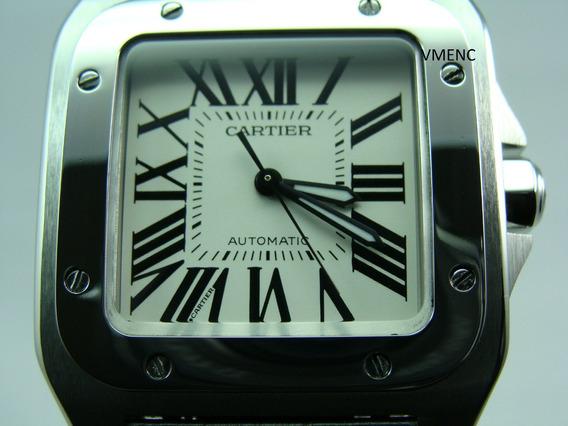 Cartier Santos 100 De Caballero X L Calibre 049