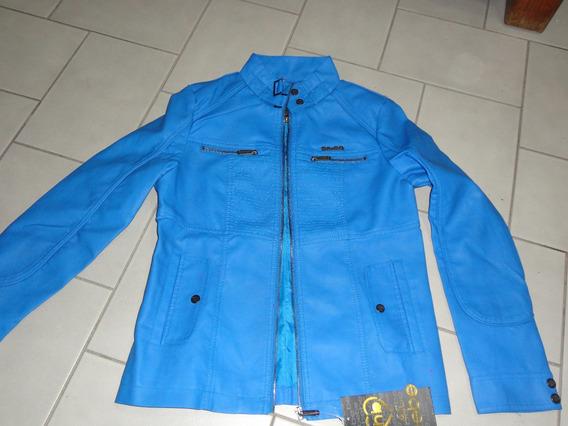 Hellow Bebe Preciosa Chamarra Talla M Azul Etiquetas Complet