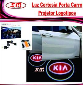 Luz De Cortesia Projetor Logomarca Kia Sportage Picanto Soul