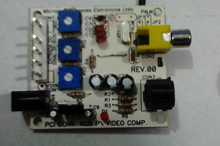 Conversor Rgb Para Composto S-video Neo-geo Jamma Arcade Mvs
