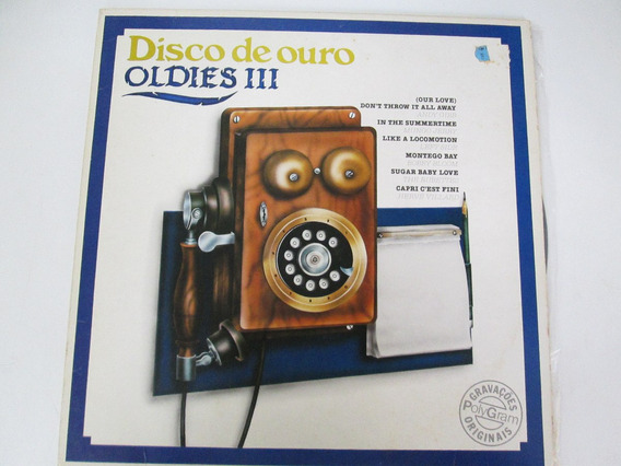 Lp Disco De Ouro Oldies 3 - Vitorsvideo