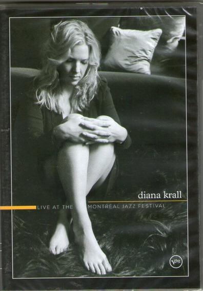 Dvd Diana Krall - Live At The Montréal Jazz Festival - Novo*