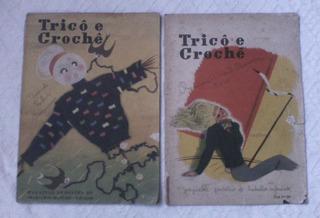 Tricô & Crochê 1947 /1948 Dedicatória De Carmem Miranda