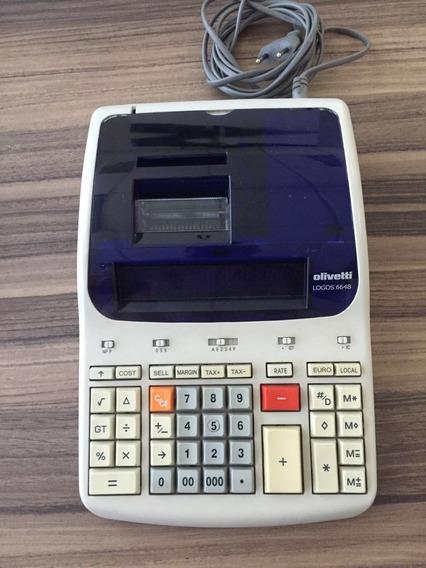Calculadora Olivetti Logos 664b