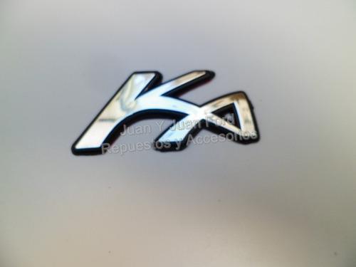 Emblema Insignia Ka De Ford Ka En Baul Nueva!!