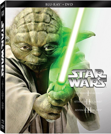Star Wars Trilogia Episodios 1 2 3 Combo Blu-ray + Dvd