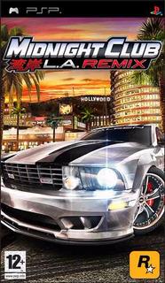 Psp - Midnight Club La Remix (acepto Mercado Pago Y Oxxo)