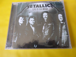 Cd Metallica / Live In San Diego / Novo