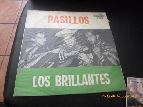 Vinilo Lp De Los Brillantes --- Pasillos (u27