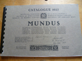 Catalogo De Muebles Austriacos Bejuco {copia} 1927