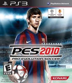 Pes 2010 Ps3 Pro Evolution Soccer Ótimo Estado