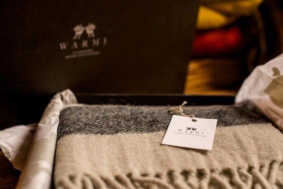 Bufanda Hombre De Llama Warmi 100% Natural