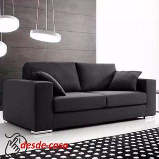Sillon Sofa 2 Dos Cuerpos Chenille Linea Premium Alta Gama