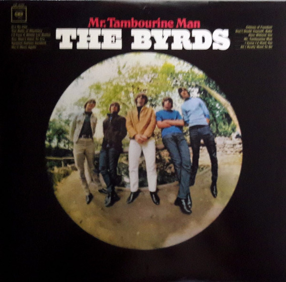 Lp 180g The Byrds/mr.tambourine Man/importado/perfeito Estad