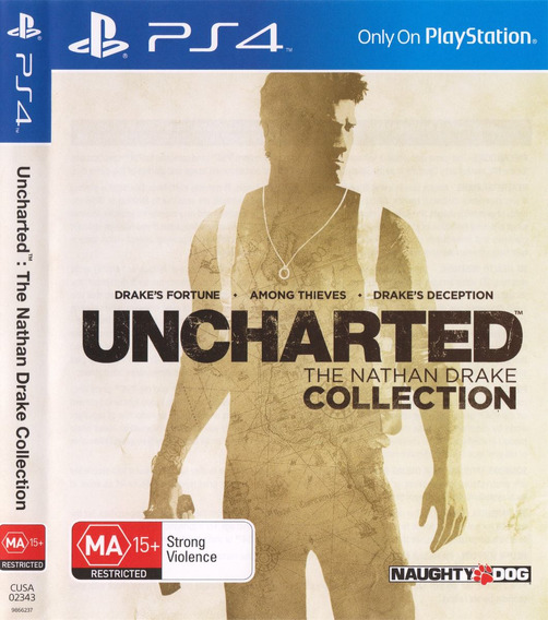 Uncharted The Nathan Drake Collection Ps4 | Ps4 Midia Fisica