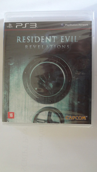 Resident Evil Revelations Para Ps3 Novo E Lacrado