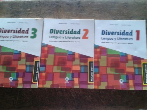 Coleção Diversidad Lengua Y Literatura/ 1/2/3/frete Grátis