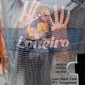 Lona Transparente Pvc 700 Micras Toldo Cobertura Tenda 4x3 M
