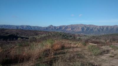 Sierras Córdoba 3800 M2 Campo En 60 Cuotas S/ant. Exc Vista