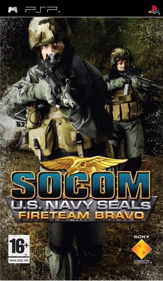 Jogo Socom Us Navy Seals Fireteam Bravo 1 Psp Mídia Física