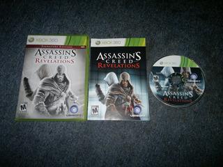 Assassins Creed Revelations Completo Para Xbox 360,excelente