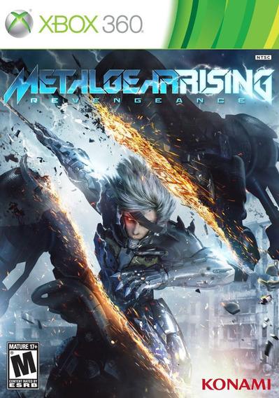 Metal Gear Rising Revengeance Xbox 360 Original
