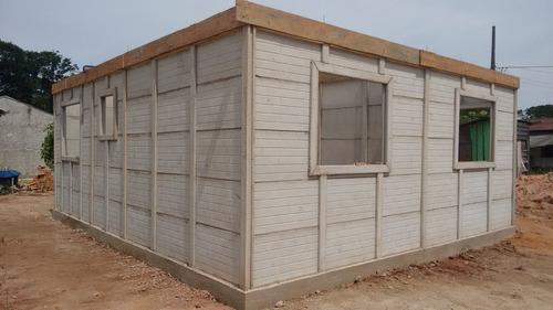 Imagem 1 de 14 de Casa De Concreto, Pre Fabricada De Concreto Pré Moldado