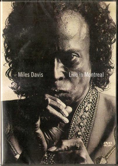 Dvd Miles Davis - Live In Montreal - Novo***