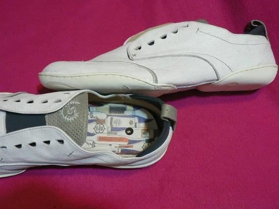 Zapatilla Zapato Deportivo Nautico Satori Nº 45 Cuero