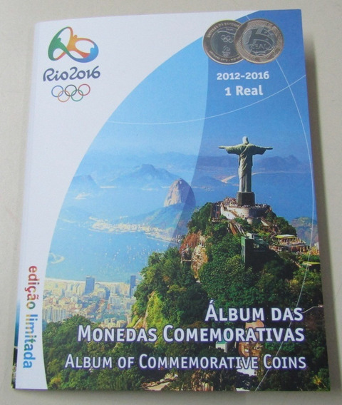 Brasil Album Lleno Monedas Conmemorativas Jjoo Rio 2016