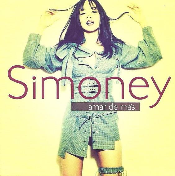 Cd Música Pop Amar De Más Simoney (digital)
