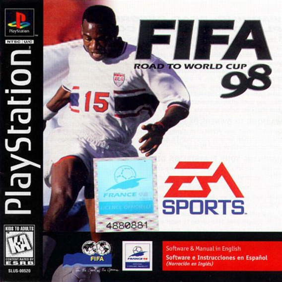 Fifa Road To World Cup 98 - Playstation 1 -