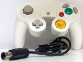 Controle Joystick Game Cube Cor Branco C/ Vibraçao