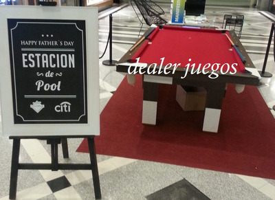 Alquiler De Mesa De Pool Metegol Ping Pong Tejo Sapo