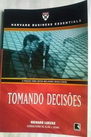 Livro Tomando Decisões - Richard Luecke - 3ª Edição - 2009 -
